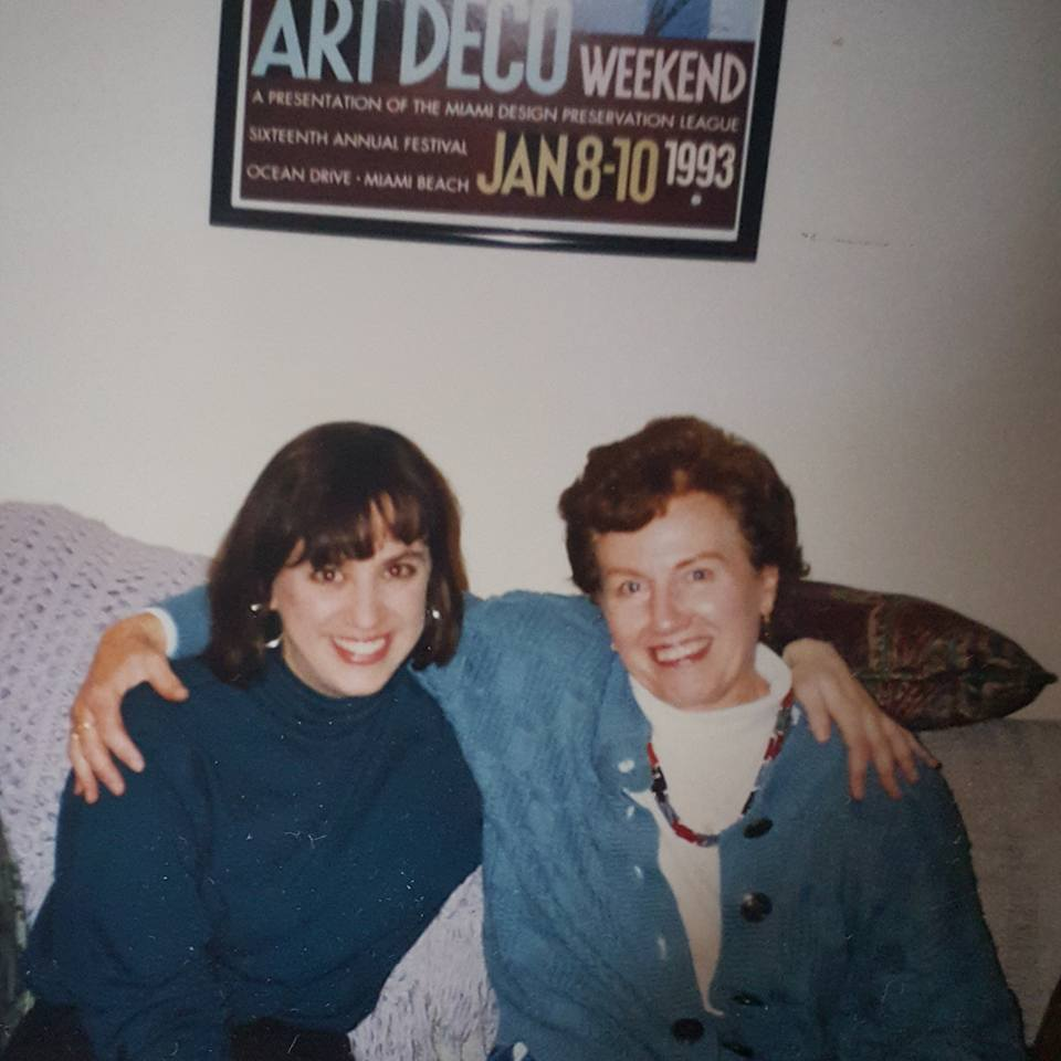 Me and my mom during my intern year in my first apartment in Ann Arbor.