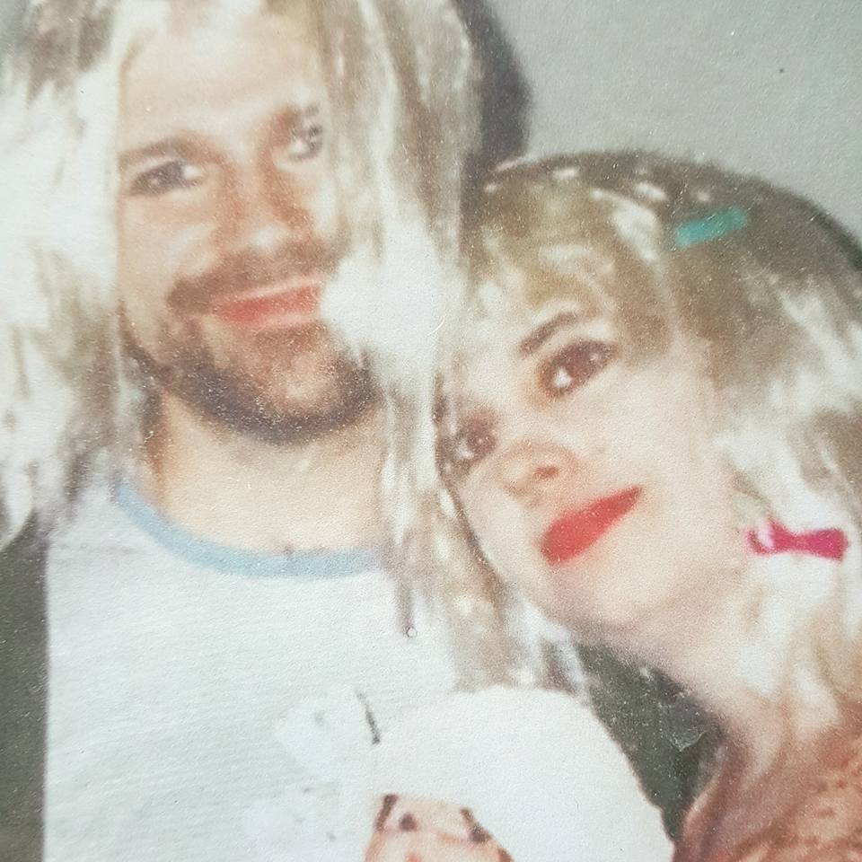 The first of MANY Halloweens together as Kurt and Courtney