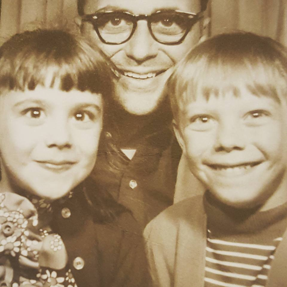 Me with my Dad and older brother at 7. Cute and pretty optimistic about the future.