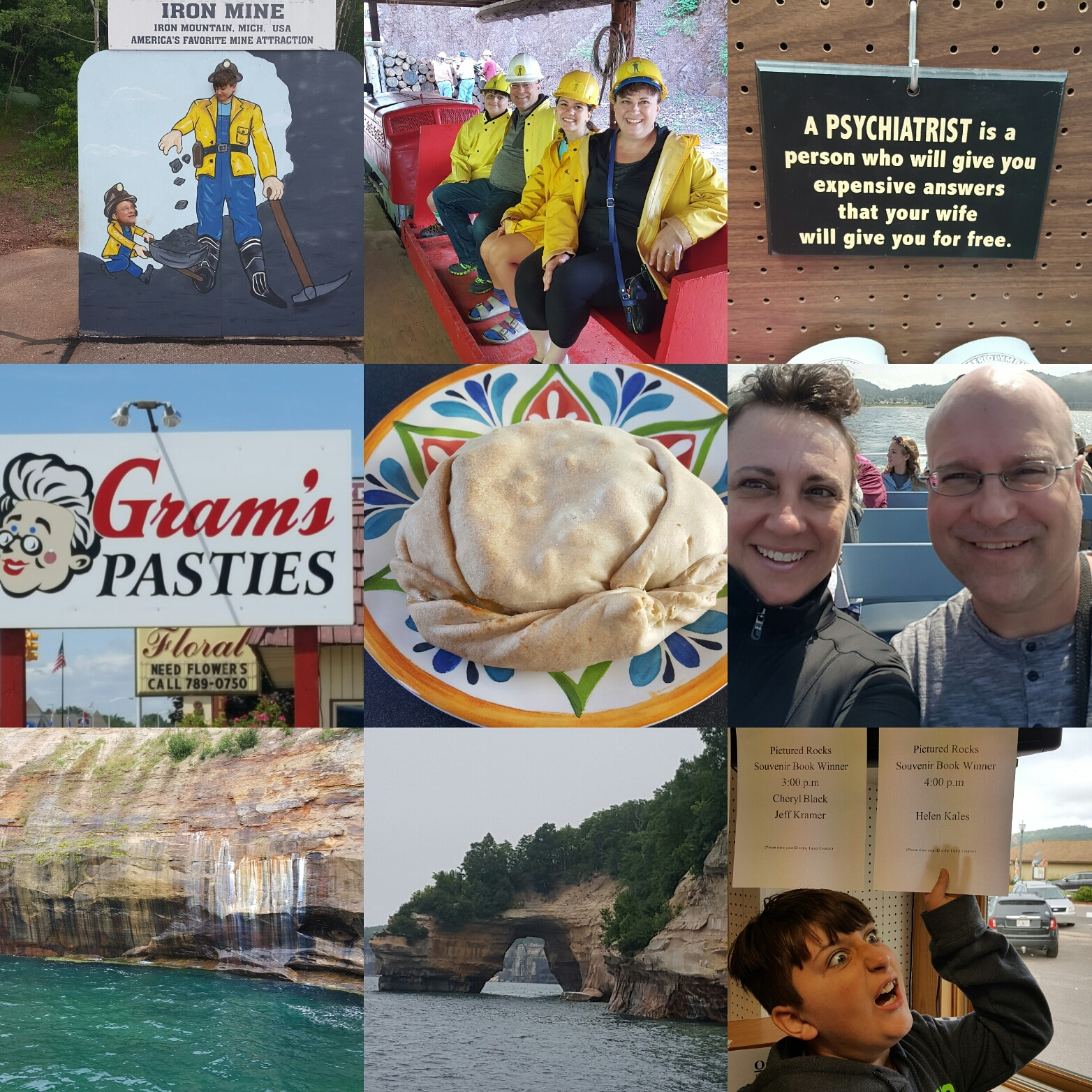 Day 5. Pictured Rocks and more.